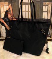 2021 الأزياء 2 قطعة / المجموعة النساء التسوق حقائب السيدات مصمم أكياس مركبة سيدة مخلب حقيبة الكتف حمل أنثى محفظة محفظة