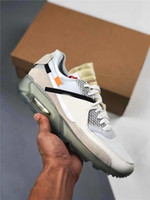 2020 Authentic 90 Original Off Desert Ore Ice Zapatos al aire libre para hombre 90s Blanco Blanco Moda Deportes Deportes Zapatos Zapatos Con Caja