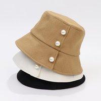 2021 Neue Perleneimer Hut Sommer Hüte Für Frauen Gorras Casquette Muts Mützen Angelkappe Gorro Mujer Pescador Kapelusz Panama NY