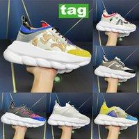 مصمم إيطاليا عارضة الأحذية العاكسة ارتفاع التفاعل ردة حذاء منصة بيضاء متعددة الألوان الجلد المدبوغ leapard الظلام الأخضر الرجال الأصفر النساء رصدت المدربين منقوشة