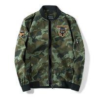 Männer camouflage mantel harte mann militär fliegende anzug freizeit sportjacke männer