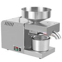 오일 프레스 x5 지능형 프레스 자동 가구 및 상업용 스테인레스 스틸 냉 추출 기계 220V / 110V