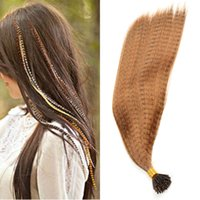 MyDiva Synthetic Rainbow Trs For Girl False Strands Fake Feather Hair Extensions Red Green Blue Pink Purple Brown Color