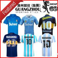 Argentinien 1986 1987 1988 1999 Napoli Retro Fussball Jerseys Boca 1995 Junioren 87 88 89 91 93 Special Napoli Maradona Football Shirt