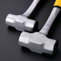 Attrezzi a mano 4LB Slittino Hammer Hard Face Acciaio Testa in acciaio Forgiato Forgiato Costruzione Indistruttibile Maniglia