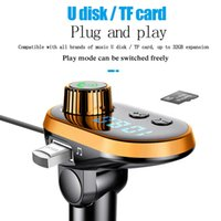 Car Charger FM Transmitter Q15 kit MP3 player adapter with usb c 8 pin Android cable