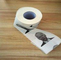 Home Joe Biden Papel higiênico Rolo Moda Engraçado Humor GAG Presentes Cozinha Banheiro De Madeira Polpa Tecido Impresso Papel Guardanapo ZC119
