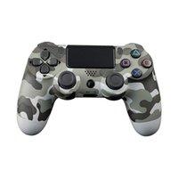 Para PS4 Controller Bluetooth Vibration Gamepad para PlayStation 4 Detroit Wireless Joystick para PS4 Games Console. H0906