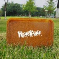 Plastic Tobacco Rotolamento vassoio contenitore di sigaretta vassoio portatile smoke stoccaggio rotolamento piastra di carta honeyPuff lla142