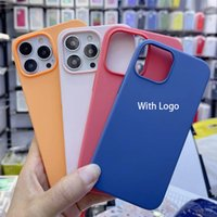 New Official Original Liquid Silicone Magsafe Cases For Apple iPhone 13 Pro Max Mini Magnetic Case 13 Back Cover Phone Coque With Logo animation 13pro Funda 1:1