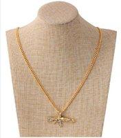 Fine Punk Hip Hop Full Rig Machine Gun Submachine Gun Men's Pendant Necklace Jewelry 24inches 2piece lot