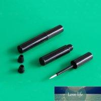Bottle 50pcs 1.2ml Mini Cosmetic Empty Black Eyelashes Tube Mascara Eyeliner Vials Makeup Organzier Container With Brush Plug