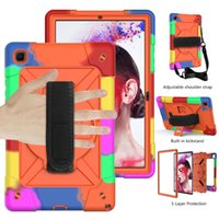 Case For Samsung Galaxy Tab A7 10.4 2020 Funda Tablet Hard Case SM-T500 SM-T505 SM-T507 Heavy Duty Silicone Rugged Stand Cover