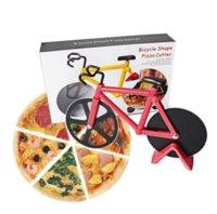 24 시간 배송료 !! 피자 커터 자전거 듀얼 스테인레스 스틸 자전거 피자 나이프 주방 베이킹 도구 크리 에이 티브 요리 도구 GYQ