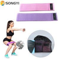 Bandas de resistencia Songyi Training Fitness Ejercicio Gimnasio Fuerza Pilates Deporte Caucho Crossfit Equipo de entrenamiento S74