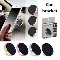 Soporte de teléfono de coche magnético para iPhone XS X Samsung Image Mount Holder de coche para teléfono en soporte para teléfono móvil de células de coche