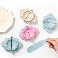 Herramientas de albóndolas Herramientas de cocina Prensa Moldeteo Molde de piel Herramientas perezosas Conjunto de hogar Flower Dumpling Maker Lla7465