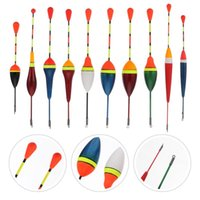 Fishing Accessories 10pcs Bobbers Floats Tackle Tool Fish Bite