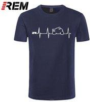 REM NIEUWE COOL T-shirt T-shirt Japan Motorfietsen Heartbeat GSXR 1000 750 600 K7 210304