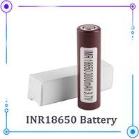 Otantik 18650 Pil LG HG2 Samsung INR18650 30Q 3000mAh HE2 HE4 INR 25R 3000mAH Hücre EC041 Kullanarak Şarj Edilebilir Piller