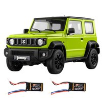 Eachine&FMS RC12002 1 12 RC Car 2.4G with LED Lights 2 batteries Climbing Vehicle Off-Road Truck RTR Control Toys for Children