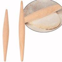 23 см / 28см тесто древесины без палочки двойной наконечник помадка выпечка для выпечки выпуклости для пельмени