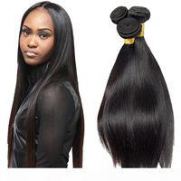 مستقيم الشعر البشري نسج 3 حزم الكثير ريمي الشعر البشري أعلى جودة البرازيلي الهندي بيرو الماليزية الشعر رخيصة النجس الشعر بيع