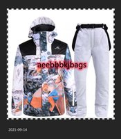 Skiing Suits Thick Warm Men And Women Ski Suit Waterproof Windproof Snowboarding Jacket Pants Set Winter Snow Wear