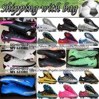 Mens Phantom GT Elite FG AG футбольные сапоги Обувь 3D Scorpion Tech Craft Зеленый черный белый красный серебристый синий розовый желтый золотой футбол