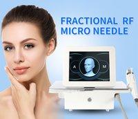 CE ROHS approvato Professionale Portable RF Microneedle Microneedle Machine Frequenza Frequenza Ringiovanimento Stringere il sollevamento del viso della rimozione delle rughe