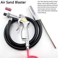 空気圧ツールエアサンドブラストガンキットサンドブラストブラストゴールトーリングツール無負荷速度研磨剤産業