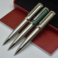 طبعة محدودة سانتوس دومونت قلم حبر جافت عالية الجودة معدن الكرة الأقلام الكتابة اللوازم المدرسية مكتب مع الرقم التسلسلي
