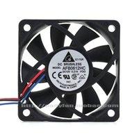 Wentylatory Chłodzenie Delta AFB0612HC 12 V 6013 6 cm Podwójna kulka Mały Case CPU Prędkość Pomiarowy Wentylator chłodzący 60 × 60 × 13mm Cooler