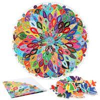 Decompressione per adulti Difficile puzzle di arte 1000 pezzi di carta puzzle intelligenza gioco creativo colorato famoso puzzle paysa