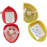 أحادي الاتجاه قناع الإنعاش cpr الانقاذ مع 10pcs / lot جيب صمام التنفس للأول المعونة المعونة معدات الطوارئ multipw9p 4xb31