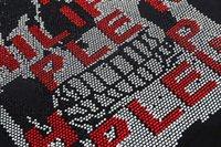 Super hochwertige Modemarke PPP Hot Bohrer Skull Philip Herren Kurzarm T-Shirt # 100