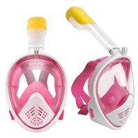 Sualtı Anti Sis Dalış Maskesi Şnorkel Yüzme Eğitim Dalış Maskesi Bandaj Nefes Tüp Tam Yüz Şnorkel 175 x2