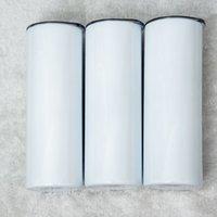 2021 POP 20 oz Pop Tumbler Paslanmaz Çelik Şişeler Vakum Yalıtımlı Düz Fincan Bira Kahve Kupa Gözlük Kapakları ve Plastik Straws