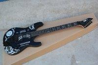 고품질 맞춤 쇼핑 흑단 KH-2 Kirk Hammett Ouija Black Opera 기타 흑단 핑거 보드 일렉트릭 기타