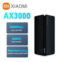 Xiaomi Youpin 무선 라우터 AX3000 WiFi 6 메쉬 3000Mbps 중계기 2.4G 5G 전체 기가비트 OFDMA VPN 신호 증폭기 Extender PPPoE