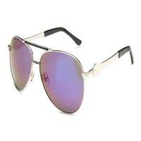 Mens Designer Sonnenbrille Frauen Luxus Sonnenbrille 0805 Überzogene Quadratische Rahmen Marke Retro Polarisierte Mode Goggle Occhiali da Sole Firmati 10 Farbe Optional mit Box