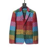 2021 Модные дизайнерские мужские костюмы Blazers Стоимость для человека Классический случайный цветочный принт с длинным рукавом мужчины сливов Blazer Coots осень зима Stleye M-3XL