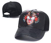 2021 Classic Top Quality Peaked Caps Snake Tiger Bee Luxurys Mens Womens Designers Gato Lona Homens Baseball Moda Mulheres Sun Chapéu Chapéu Barrel