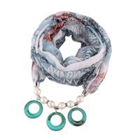 Image printing Pendant soft Necklace Jewelry scarf