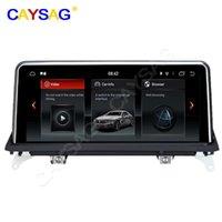 Player Android 9.0 8core 4G 64G 2Year 보증 PX6 BMWX5 E70 x6 E71 F15 2008-2013 와이드 스크린 GPS 자동차 DVD 멀티미디어 탐색