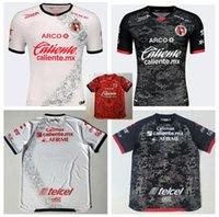 멕시코 라 리가 MX 클럽 Tijuana 셔츠 20202021 홈 레드 루시아 리버로 보아노스 축구 셔츠 클럽 티후아나 멀리 축구 태국어 유니폼