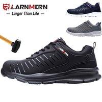 Ларнмерная мужская рабочая обувь стальной носят защитная обувь удобная легкая антисобивная антигольцовая конструкция STO8PER 210315