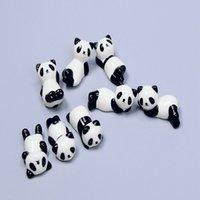 200 adet / grup Seramik Panda Çubukları Standı Tutucu Kaşık Çatal Bıçak REST RAF Restoran Masa Masası Dekor