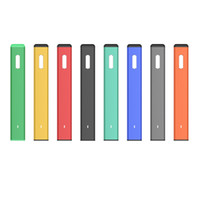 정통 녹색 바 일회용 vape 펜 장치 280mAh 배터리 1.0ml 포드 세라믹 코일 빈 두꺼운 오일 기화기 스타터 키트