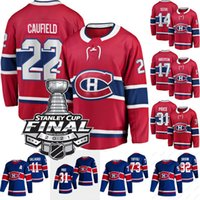 2021 Stanley Cup Final 22 Cole Caufield Jersey Montreal Canadiens Nick Suzuki Josh Anderson Carey Prezzo Jesperi Kotkaniemi Tyler Toffoli Shea Weber Eric Staal